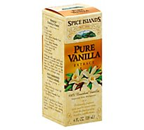 Spice Islands Extract Pure Vanilla - 4 Oz
