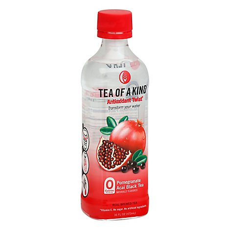 Tea Of A Kind Twist to Brew White Tea Pomegranate Acai - 16 Fl. Oz.