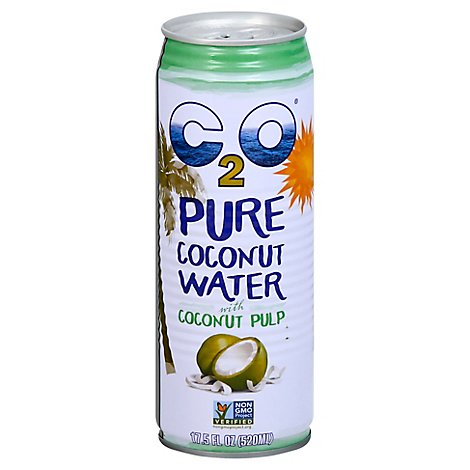 C2O Coconut Water Pure with Pulp - 17.5 Fl. Oz.