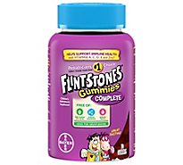 Flintstones Childrens Multivitamins Supplement Gummies Complete - 70 Count