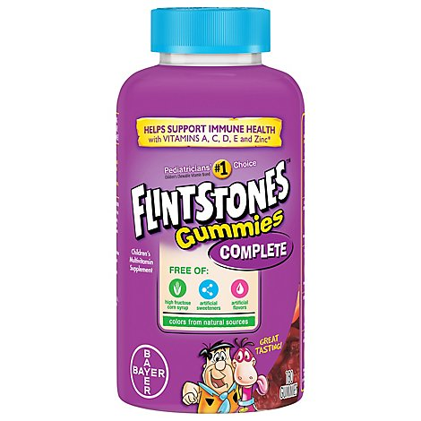 Flintstones Sour Gummies Multivitamins - 150 Count