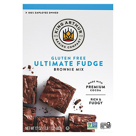 King Arthur Flour Brownie Mix Gluten Free - 17 Oz