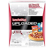 Lunchables Uploaded Lunch Combinations Ultimate Deep Dish Pizza With Pepperoni - 4.7 Oz