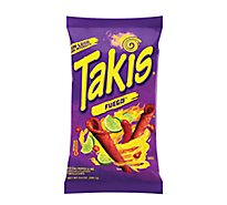 Barcel Takis Tortilla Chips Fuego Hot Chili Pepper & Lime - 9.9 Oz