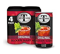 Mr & Mrs T Bloody Mary Mix Original - 4-5.5 Fl. Oz.
