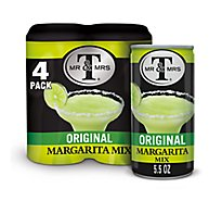 Mr & Mrs T Margarita Mix - 4-5.5 Fl. Oz.