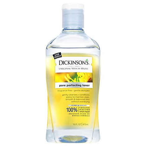 Dickinsons Pore Perfecting Toner Fragrance Free - 16 Fl. Oz.