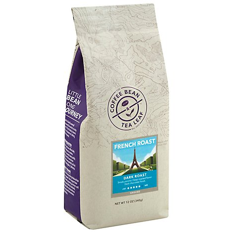 The Coffee Bean & Tea Leaf Coffee Ground Dark Roast French Roast - 12 Oz