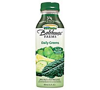 Bolthouse Farms 100% Fruit & Vegetable Juice Daily Greens - 15.2 Fl. Oz.