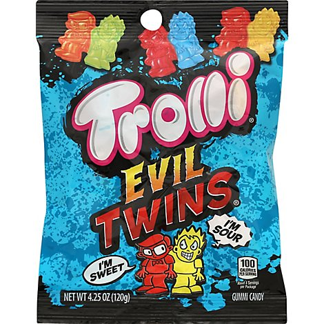 Trolli Candy Gummi Evil Twins - 4.25 Oz