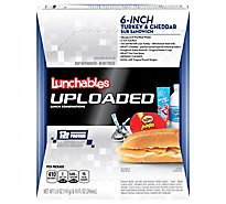 Lunchables Uploaded Lunch Combinations Sub Sandwich 6-Inch Turkey & Cheddar - 5 Oz
