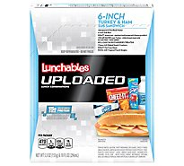 Oscar Mayer Lunchables Turkey & Ham Sub Sandwich - 15.5 Oz