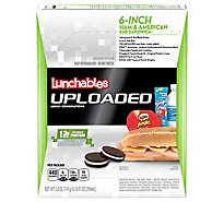 Lunchables Uploaded Lunch Combinations Sub Sandwich 6-Inch Ham & American - 5 Oz