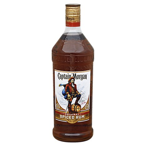 Captain Morgan Rum Spiced Original Limited Edition - 1.75 Liter