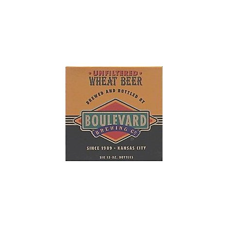 Boulevard Brewing Company Beer Wheat Natural Resources - 6-12 Fl. Oz.