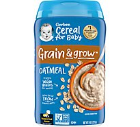 Gerber Cereal Oatmeal - 8 Oz