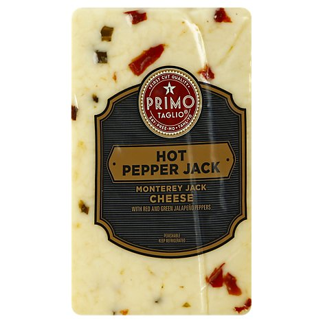 Primo Taglio Hot Pepper Monterey Jack Cheese - 0.50 Lb.