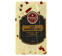 Primo Taglio Cheese Monterey Jack Hot Pepper - 1 Lb