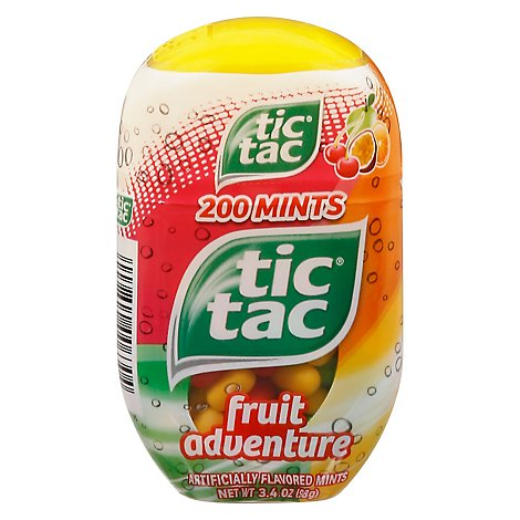 Tic Tac Mints Fruit Adventure - 3.4 Oz