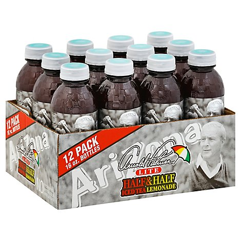 AriZona Arnold Palmer Half & Half Iced Tea Lemonade LITE - 12-16 Fl. Oz.