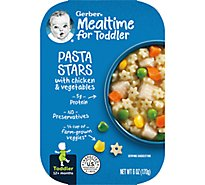 Gerber Pasta Stars with Chicken & Vegetables Tray 6 Oz