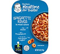 Gerber Spaghetti Rings in Meat Sauce Tray 6 Oz