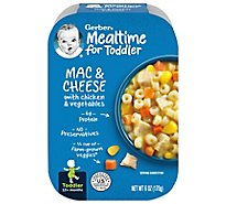 Gerber Baby Food Toddler Mac & Cheese With Chicken & Vegetables - 6 Oz