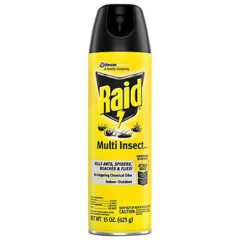 Raid Multi Insect Killer 7 15 oz