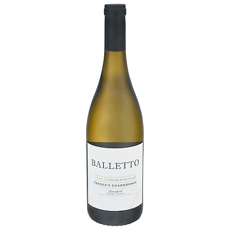 Balletto Unoaked Chardonnay Wine - 750 Ml