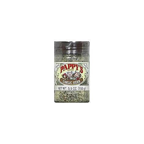 Pappys Choice Garlic Herbe Seasoning - 5.5 Oz