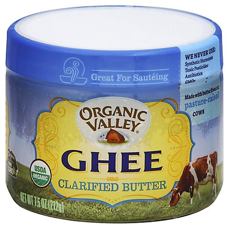 Organic Valley Ghee Clarified Butter - 7.5 Oz