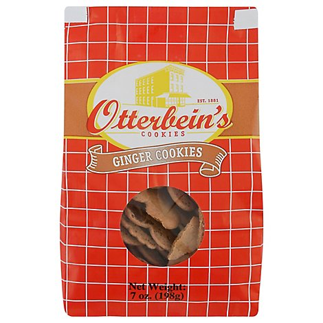 Otterbeins Cookies Ginger - 8 Oz