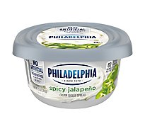 Philadelphia Cream Cheese Spread Spicy Jalapeno - 8 Oz