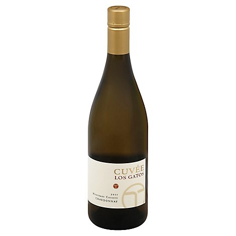 Cuvee Los Gatos Wine Chardonnay - 750 Ml
