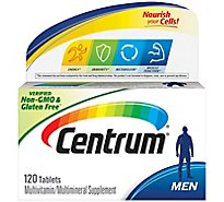 Centrum Multivitamin/Multimineral Tablets Men - 120 Count