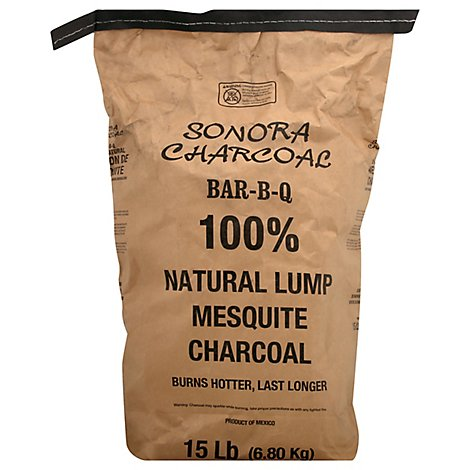 Sonora Charcoal Mesquite Bbq - 15 Lb