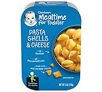 Gerber Pasta Shells & Cheese Tray 6 Oz
