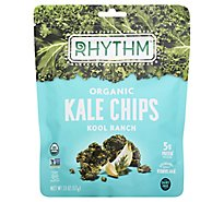 Rhythm Superfoods Kale Chips Kool Ranch - 2 Oz