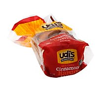 Udis Bagel Cinnimon Raisin Gluten Free - 14 Oz