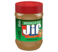 Jif Peanut Butter Creamy Reduced Fat - 16 Oz