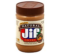 Jif Natural Peanut Butter Creamy - 16 Oz