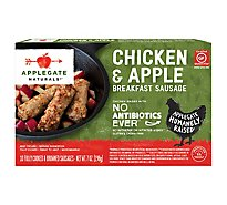 Applegate Natural Chicken & Apple Breakfast Sausage Frozen - 7oz