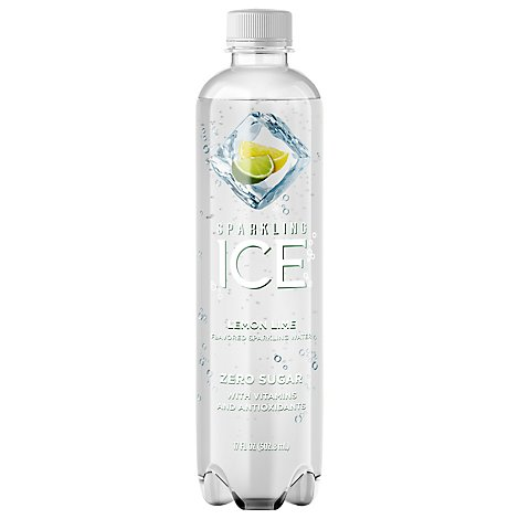 Sparkling Ice Lemon Lime Sparkling Water 17 fl. oz. Bottle