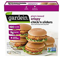Gardein Meat-Free Meals Chickn Sliders Crispy - 4 Count