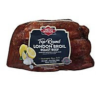 Dietz & Watson Roast Beef London Broil Sliced Top Round - 0.50 Lb.