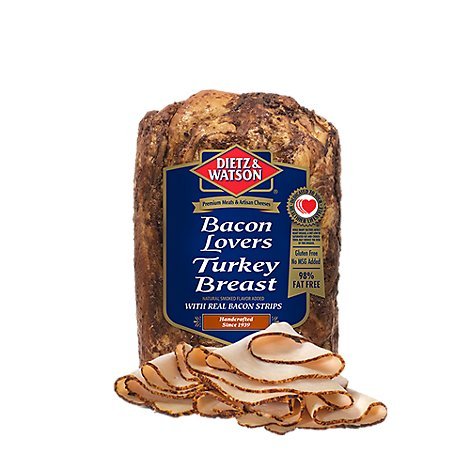 Dietz & Watson Turkey Breast Bacon Lovers - 0.50 LB