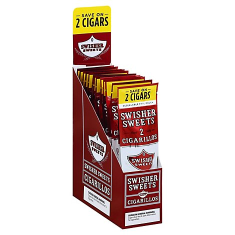 Swisher Sweets Cigarillos Regular - 2 Count