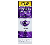 Swisher Sweets Cigars Grape 2 - 2 Count