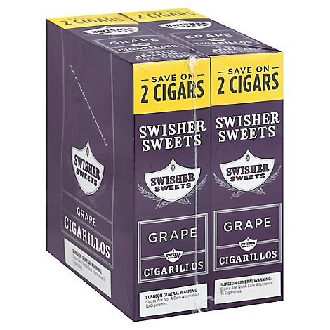 Swisher Sweets Cigars Grape 2 - Case