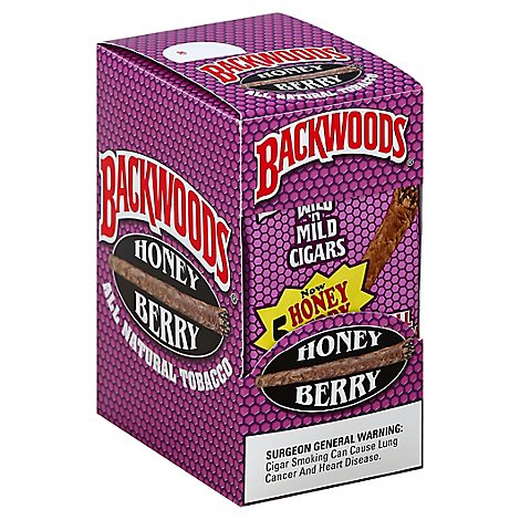 Backwoods Wild N Mild Cigars Honey Berry - 8-5 Count